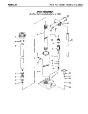 SPX OTC 1807 60299 014 00133 Floor Crane Assembly Owners Manual page 4