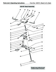 SPX OTC 1728 014 00942 Lift Table High Lift Transmission Jack Max Capacity 1000 Lbs Owners Manual page 4