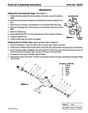 SPX OTC 1728 014 00942 Lift Table High Lift Transmission Jack Max Capacity 1000 Lbs Owners Manual page 9