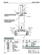 SPX OTC 1590 Lift Table Air Lift Owners Manual page 3