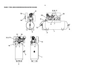 Ingersoll Rand T30 2340 Two Stage Air Compressor Parts List Manual page 10