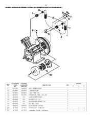 Ingersoll Rand T30 2340 Two Stage Air Compressor Parts List Manual page 8