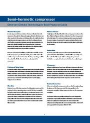 Emerson Copeland Semi Hermetic Compressor Catalogue page 6