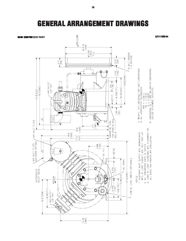 Air Compressor Parts Diagram