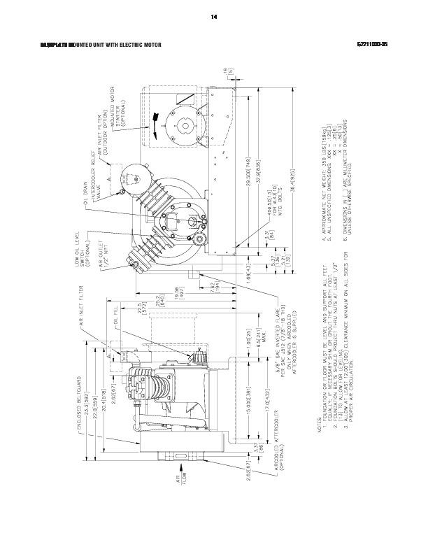 ingersoll rand 2475 air compressor parts list