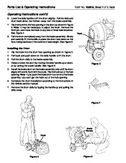 SPX OTC 5017 Brake Drum Dolly Application Owners Manual page 4