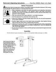 Robinair SPX Tech Serv 6585 Owners Manual page 2