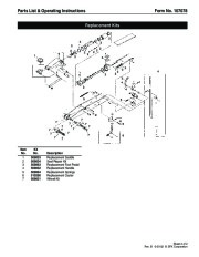 SPX OTC 1512 Service Jack Capacity 20 Tons Owners Manual page 3