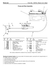 SPX OTC 1585 1586 1587 61933 Power Train Lift Owners Manual page 4