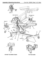 SPX OTC 1585 1586 1587 Power Train Lift Max Capacity 1 250 Lbs Safety Precautions Owners Manual page 2