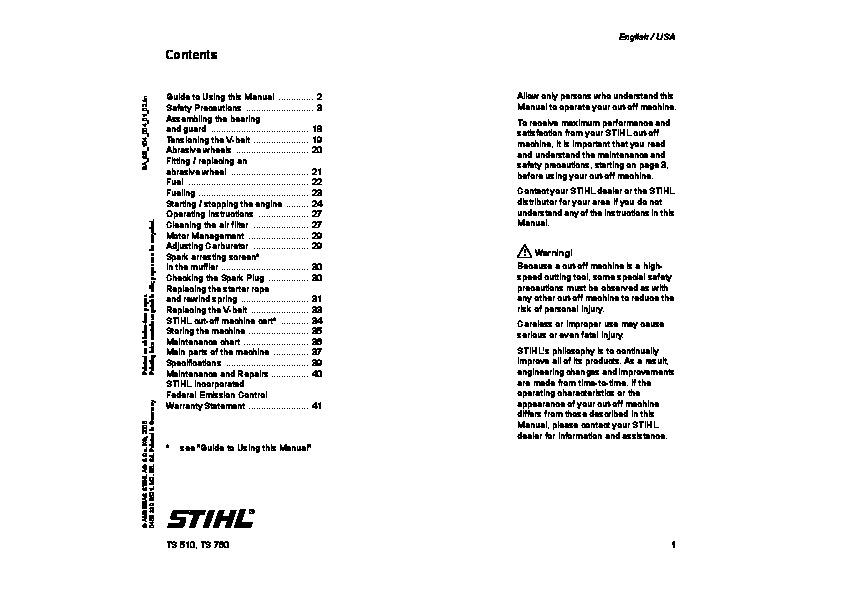 Stihl Fs 45 Service Manual Pdf
