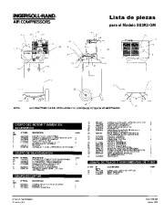 Ingersoll Rand SS3R2 GM Air Compressor Parts List Manual page 3