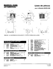 Ingersoll Rand SS3R2 GM Air Compressor Parts List Manual page 5