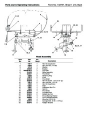 SPX OTC 1791 Lift Table High Lift Transmission Jack Owners Manual page 2