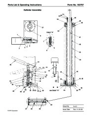 SPX OTC 1791 Lift Table High Lift Transmission Jack Owners Manual page 3