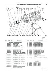 Ingersoll Rand SSR XFE EPE HPE SSR XF EP SSR XF EP XP 50 60 75 100 HP SSR ML MM MH 37 75 KW Air Compressor Parts List page 23