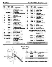 SPX OTC 014 00084 SPA256 014 00085 SPE256 1833 SPM256 1834 Shop Press Owners Manual page 2