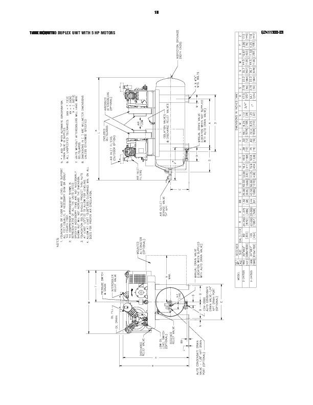 Ingersoll Rand Compressor 2475 Manual
